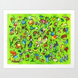 Birds and Bugs Art Print