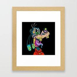 Monster Goof Framed Art Print