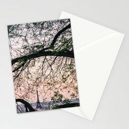 Eiffel Frame Stationery Cards