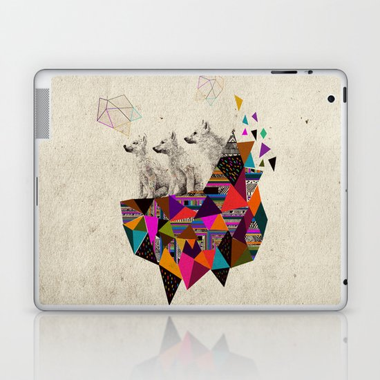 The Night Playground by Peter Striffolino and Kris Tate Laptop & iPad Skin
