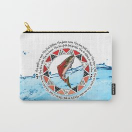 Salmon Spirit Animal Carry-All Pouch