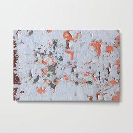 Peeling paint Textures 20 Metal Print