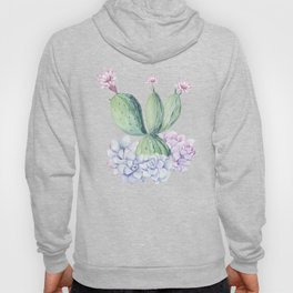 In Love Rose Cactus + Succulents Hoody