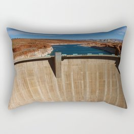 Glen Canyon Dam and Lake Powell Rectangular Pillow