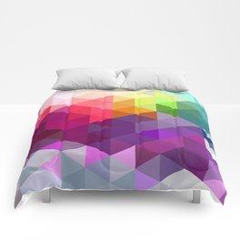 Pixel Prism Comforters