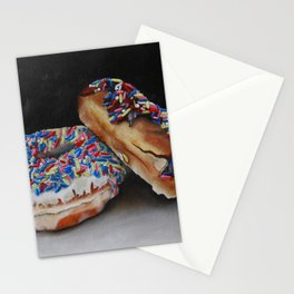 Donuts with Sprinkles Stationery Cards