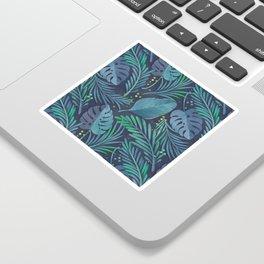 tropical pattern Sticker