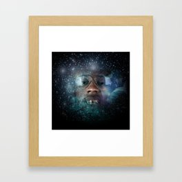 Intergalactic Gold Everything  Framed Art Print