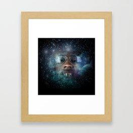 Intergalactic Gold Everything  Framed Art Print