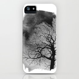 Ink trees 01 iPhone Case