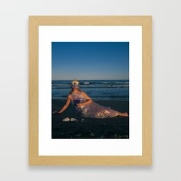 The Woman of Cups Framed Art Print
