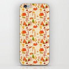woods pattern iPhone & iPod Skin