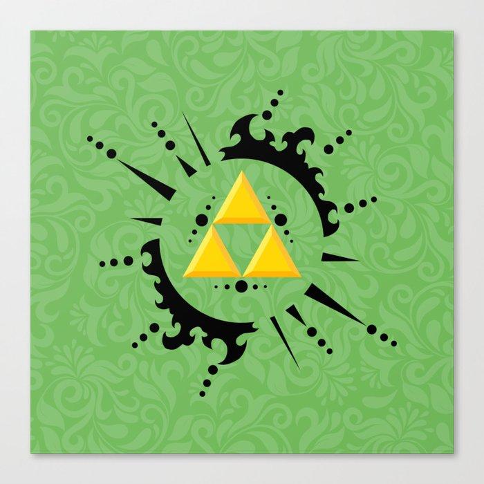 Triforce Zelda Canvas Print