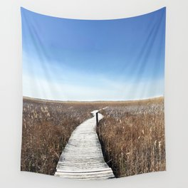 Vanishing Point Wall Tapestry