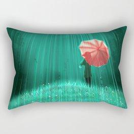 Rainy hill Rectangular Pillow