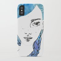 gemma iPhone & iPod Cases featuring Gemma by Jessee Fish