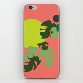 Retro jungle iPhone Skin