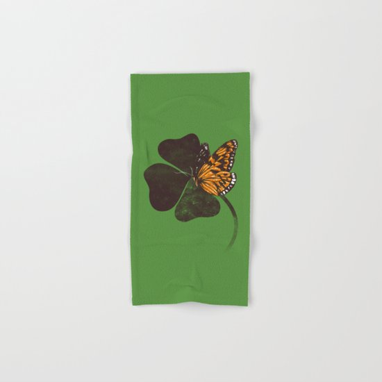 By Chance - Green Hand & Bath Towel