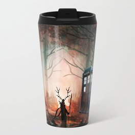 TARDIS IN THE FOREST Travel Mug