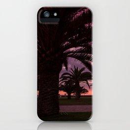 Meloneras sunset walk iPhone Case