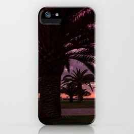 Meloneras sunset walk iPhone Case