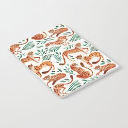 Cheetah Collection – Orange & Green Palette Notebook