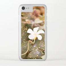 Pastel vibes floral III Clear iPhone Case