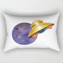 UFO & Universe Rectangular Pillow