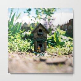 Garden friend Metal Print