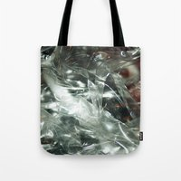 transparent Tote Bags featuring Transparent by Shannice Wollcock