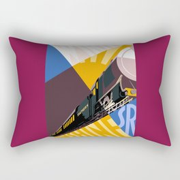 Travel South for Winter Sunshine Rectangular Pillow