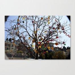 Balloon Tree1 Canvas Print
