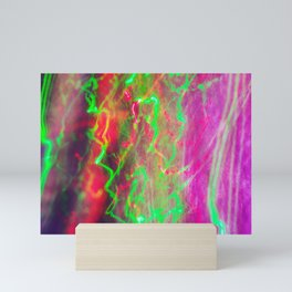 Liquid Light 3 - light painting experiment Mini Art Print