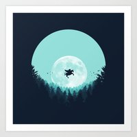 fairytale Art Prints featuring Fairytale by filiskun