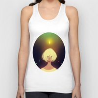 crystals Tank Tops featuring Crystals by Pods