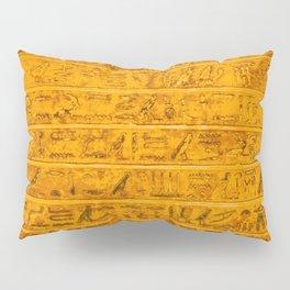 Gold Pillow Sham