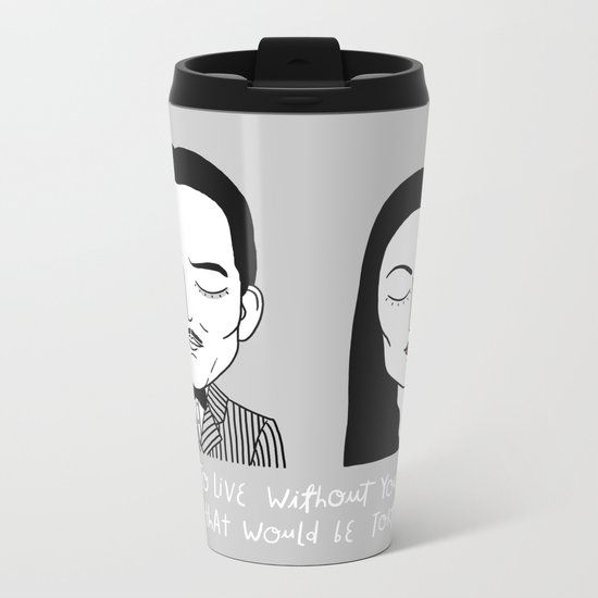 G & M Metal Travel Mug