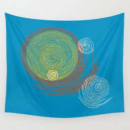 Stitches - Solar flare Wall Tapestry