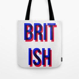 Brit ish Tote Bag
