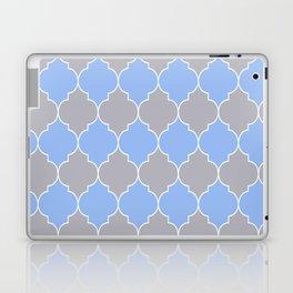 Moroccan trellis pattern Laptop & iPad Skin