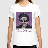 tim shumate T-shirts featuring Tim Burton by Pazu Cheng