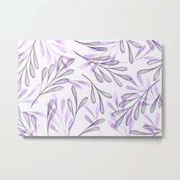 Simple Leaves 6 Metal Print