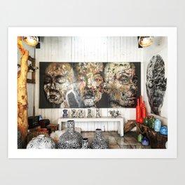 Chatuchak Art Art Print