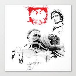 Polish King Jan III Sobieski & Marysienka Canvas Print