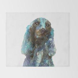 DOG#16 Throw Blanket