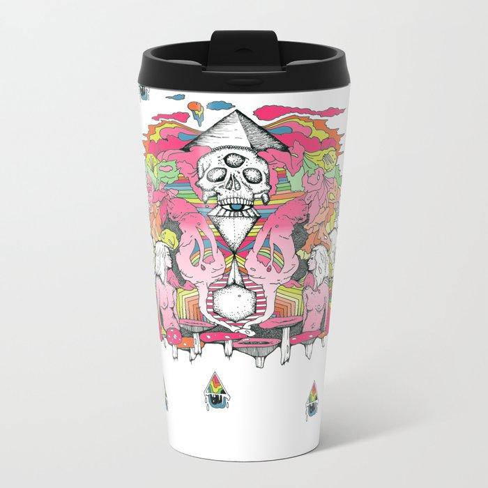 O K A Y Metal Travel Mug