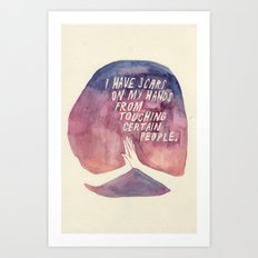 From Touching People Art Print