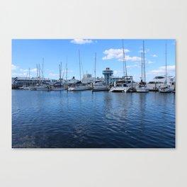 Australian Wharf Canvas Print