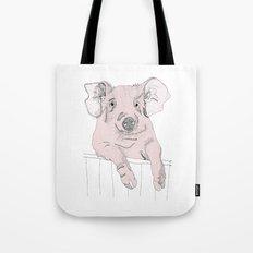Piggywig Tote Bag