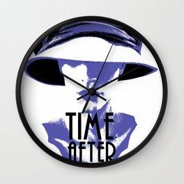 Time After Time Bleu Wall Clock